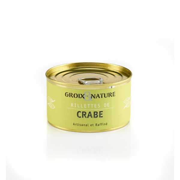 Crab rillettes