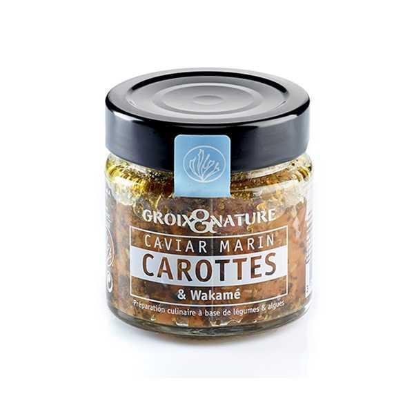 Sea Caviar with Carotts and Wakamé