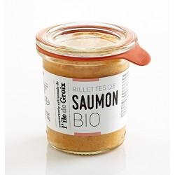 Organic salmon rillettes