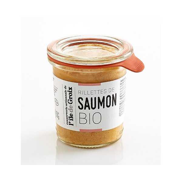 Rilllettes de saumon BIO