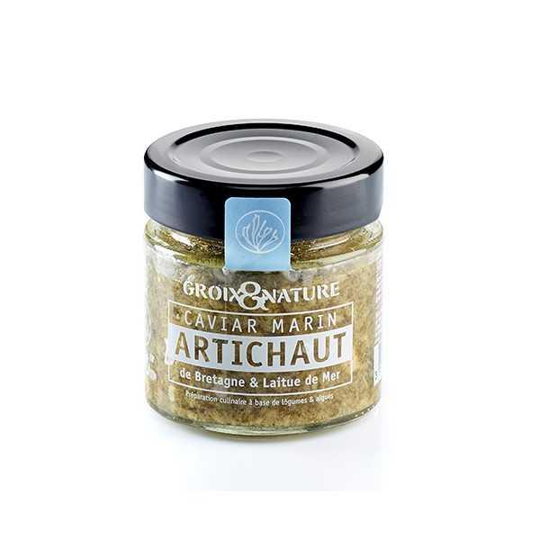 Sea Caviar with Breton Artichoke & Sea Lettuce