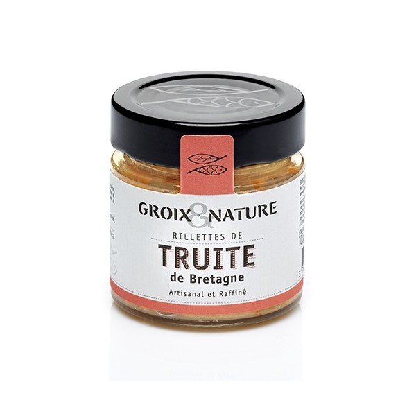 Trout rillettes in Breton style