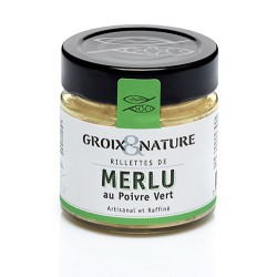 Rillettes de Merlu au Poivre Vert